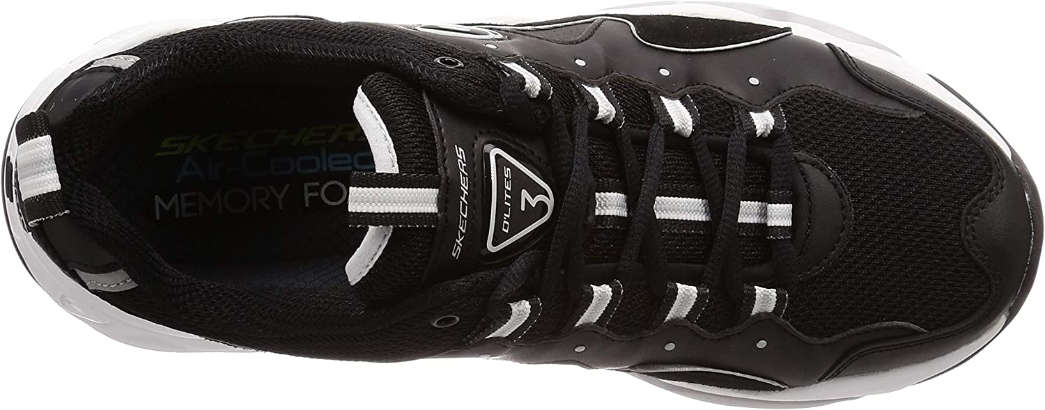 Skechers Men's D'Lites 3.0 Goblin Low Top Sneaker Shoes