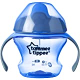 Tommee Tippee Closer To Nature First Sips Transition Cup, Blue, 5 Ounce, 1 Count