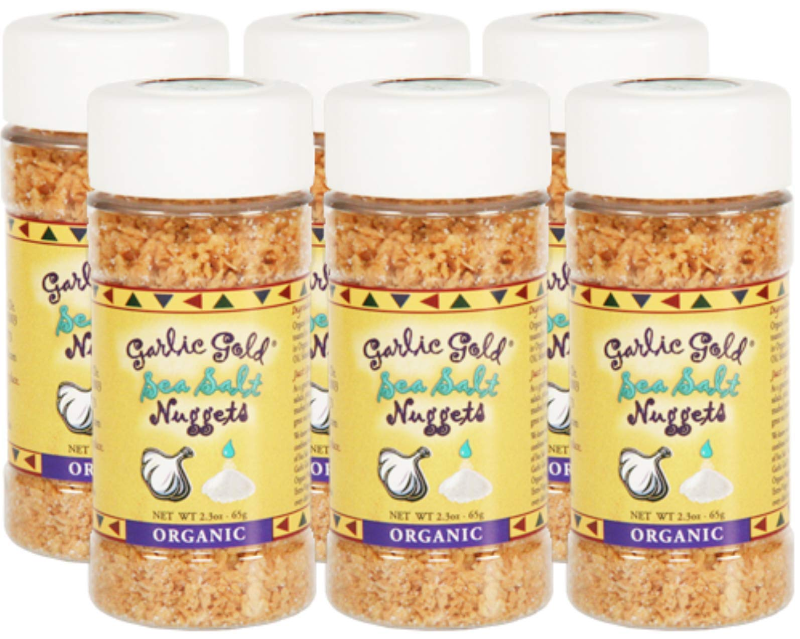 Garlic Gold, Garlic Nuggets Sea Salt Organic, 2.3 Ounce