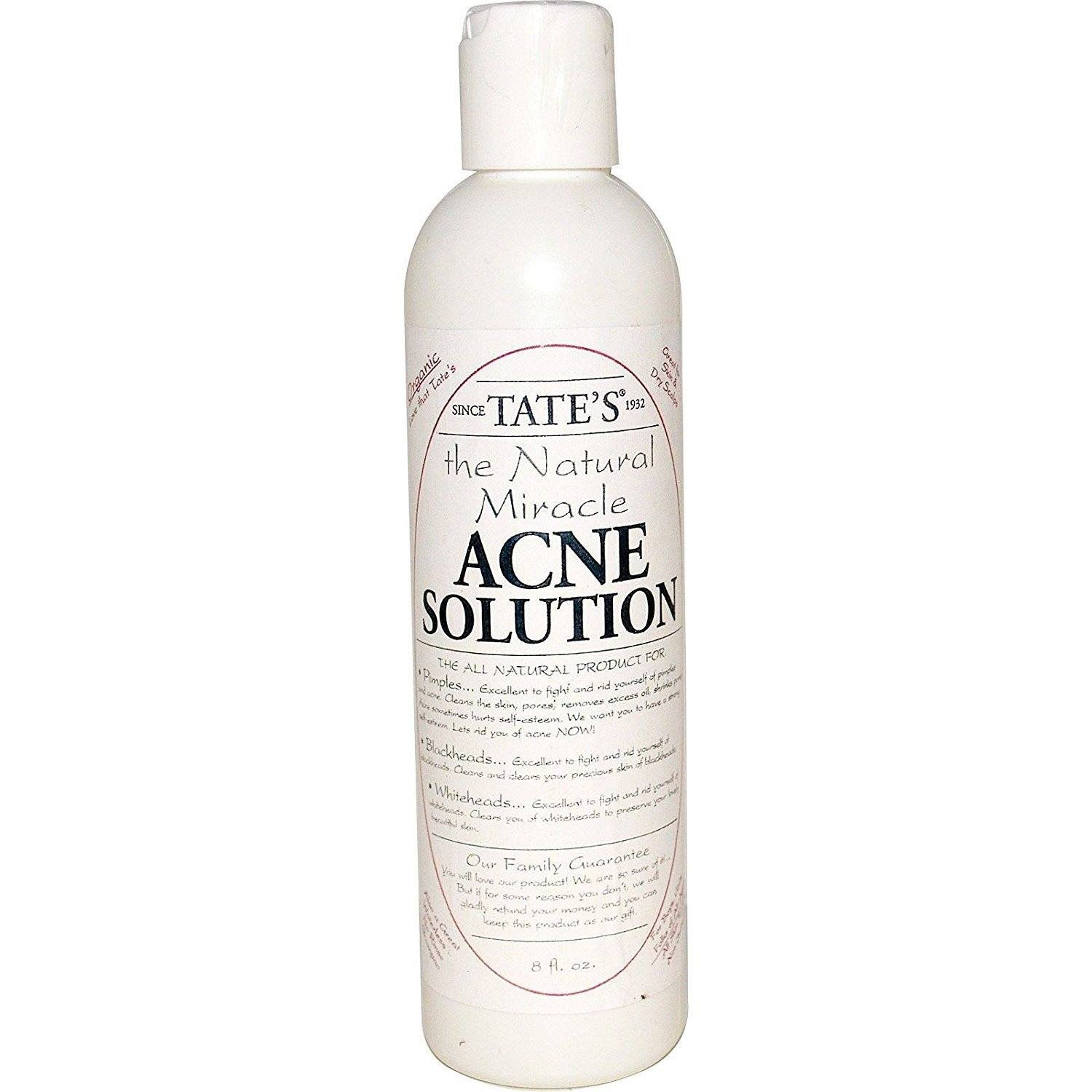 Tate's Tate s The Natural Miracle Acne Solution 8 fl oz