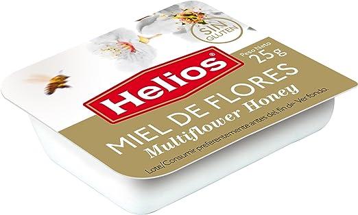 Helios - Miel 25 gr (pack 64 unidades): Amazon.es: Alimentación y bebidas