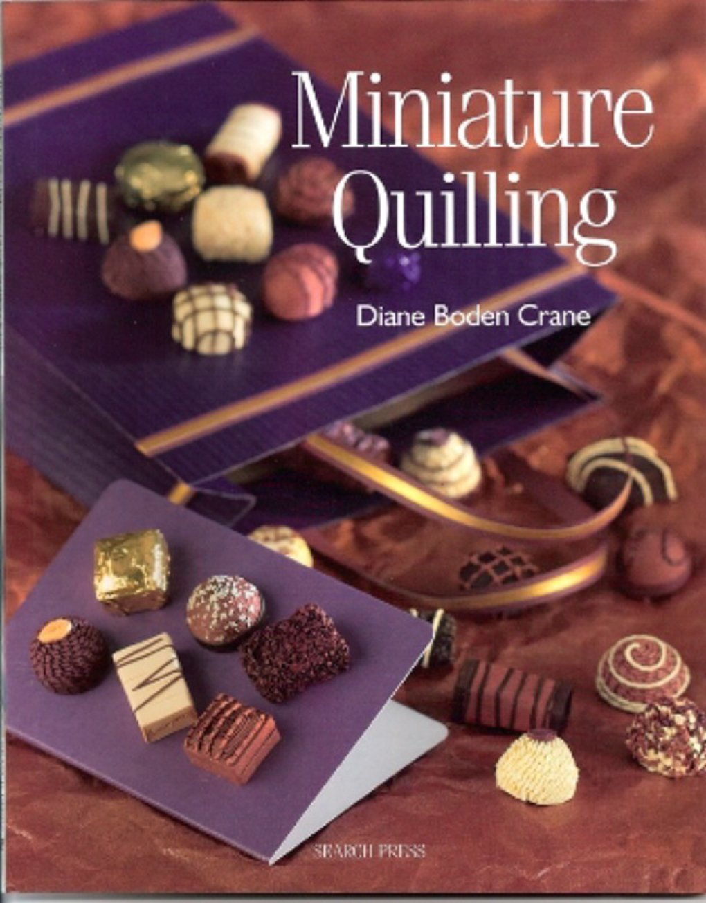 Miniature Quilling Craft Book Lake City Craft PD140LC