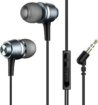 Mpow 026 Auriculares In-Ear con Cable con Micrófono y Control para ...