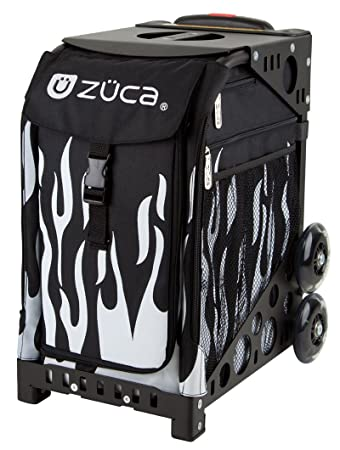 zuca bag forged insert black frame w flashing wheels - Zuca Frame
