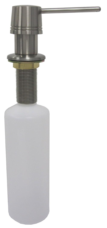ldr 501 p1050cp soap dispenser for kitchen or lavatory sink chrome countertop soap dispensers amazoncom
