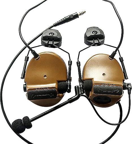 Militar Micrófono Dinámico Elemento Airsoft Comtac Estilo Táctico Casco Auricular Buy Comtac Casco Táctico Casco,Airsoft Comtac Estilo Táctico Casco