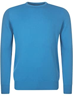 1ded04143fd Great   British Knitwear Men s HM105 100% Lambswool Plain Crew Neck Jumper.  Made in