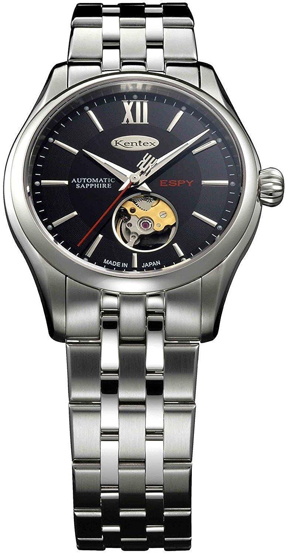Kentex reloj espia 3 automático a corazón abierto e573 m-08 hombre: Amazon.es: Relojes
