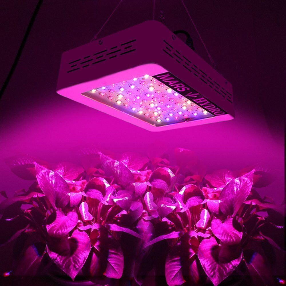 MarsHydro 300W LED Grow Light Full Spectrum for Hydroponic Indoor Plants Growing Veg and Flower by MARS HYDRO (Image #6)