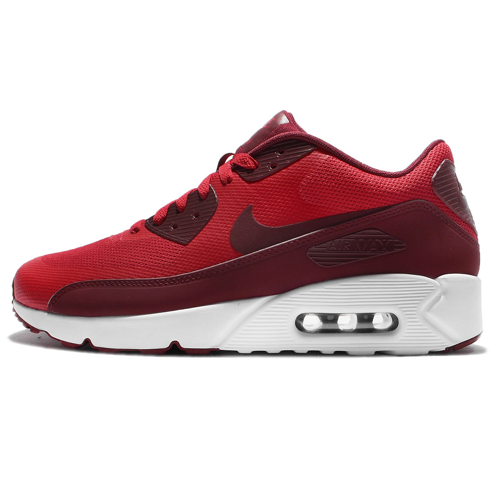 NIKE Men's Air Max 90 Ultra 2.0 Essential University RedTeam RedWhite Running Shoe 10.5 Men US