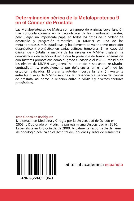 Determinacion Serica de La Metaloproteasa 9 En El Cancer de ...