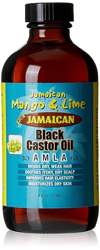 Jamaican Mango & Lima Aceite de Ricino/Amla 100% natural 236 ml – juego
