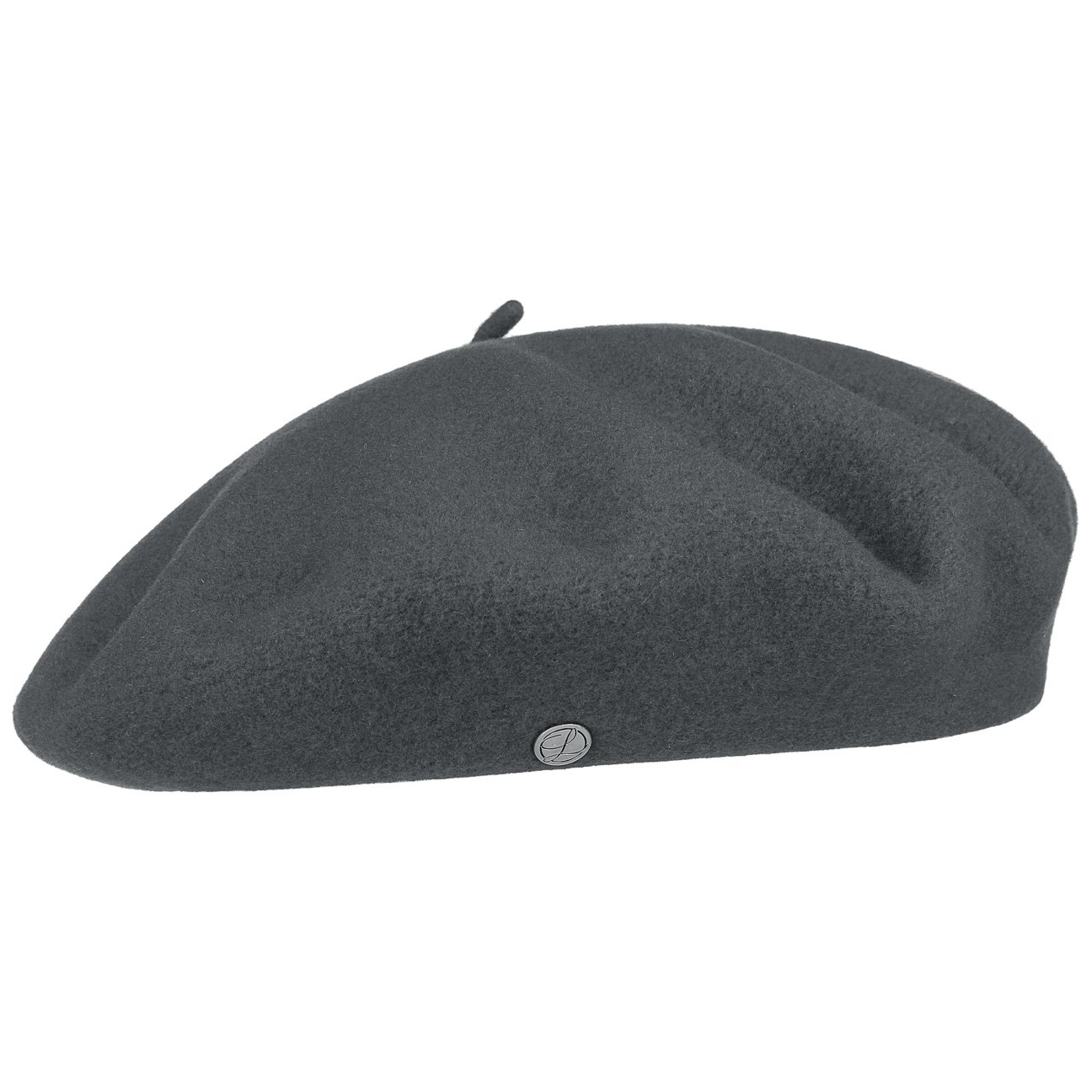 Authentique Classic Wool Beret - Charcoal