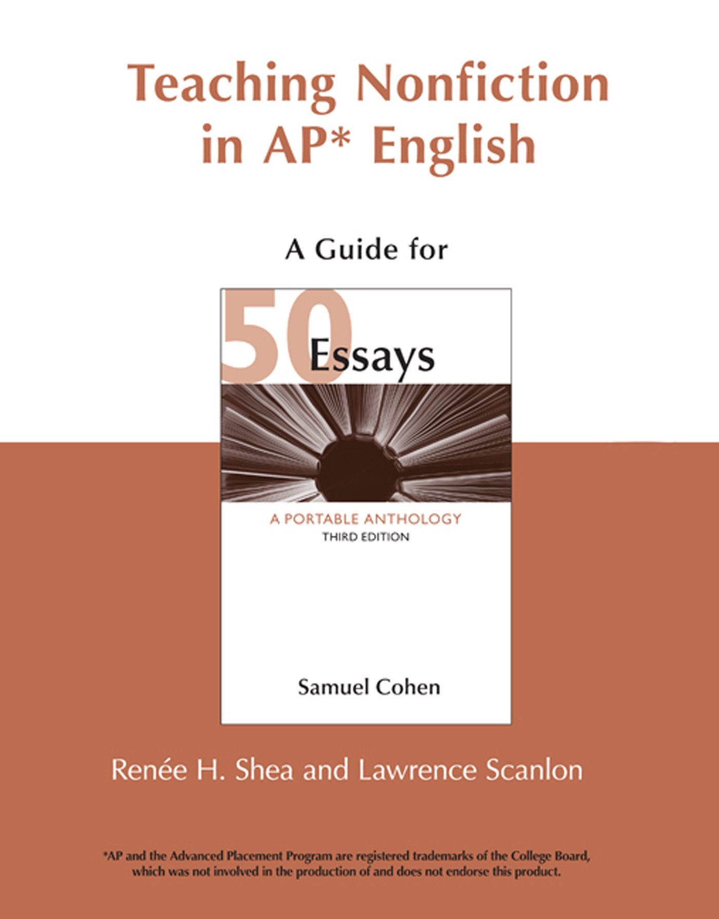 teaching nonfiction in ap english a guide for  essays third  teaching nonfiction in ap english a guide for  essays third edition  paperback
