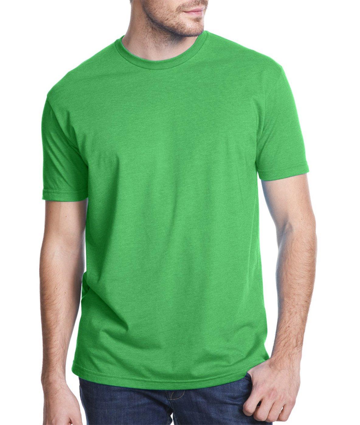 Next Level Apparel メンズ CVC クルーネック ジャージ Tシャツ B07D1CK8G6 XX-Large|Black + Kelly Green (2 Pack) Black + Kelly Green (2 Pack) XX-Large