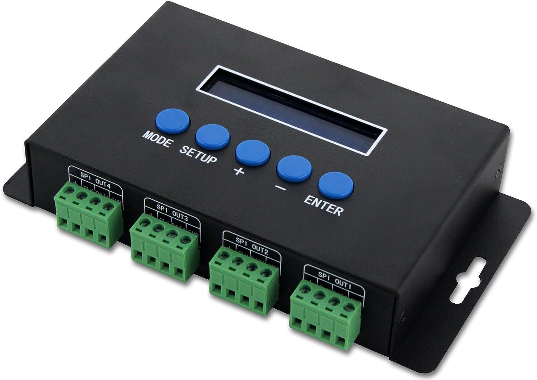 Artnet to TTL SPI Controller / Ethernet-SPI/DMX Pixel light ...