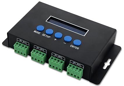 0afb8a5f5d58 Amazon.com  Artnet to TTL SPI Controller   Ethernet-SPI DMX Pixel ...