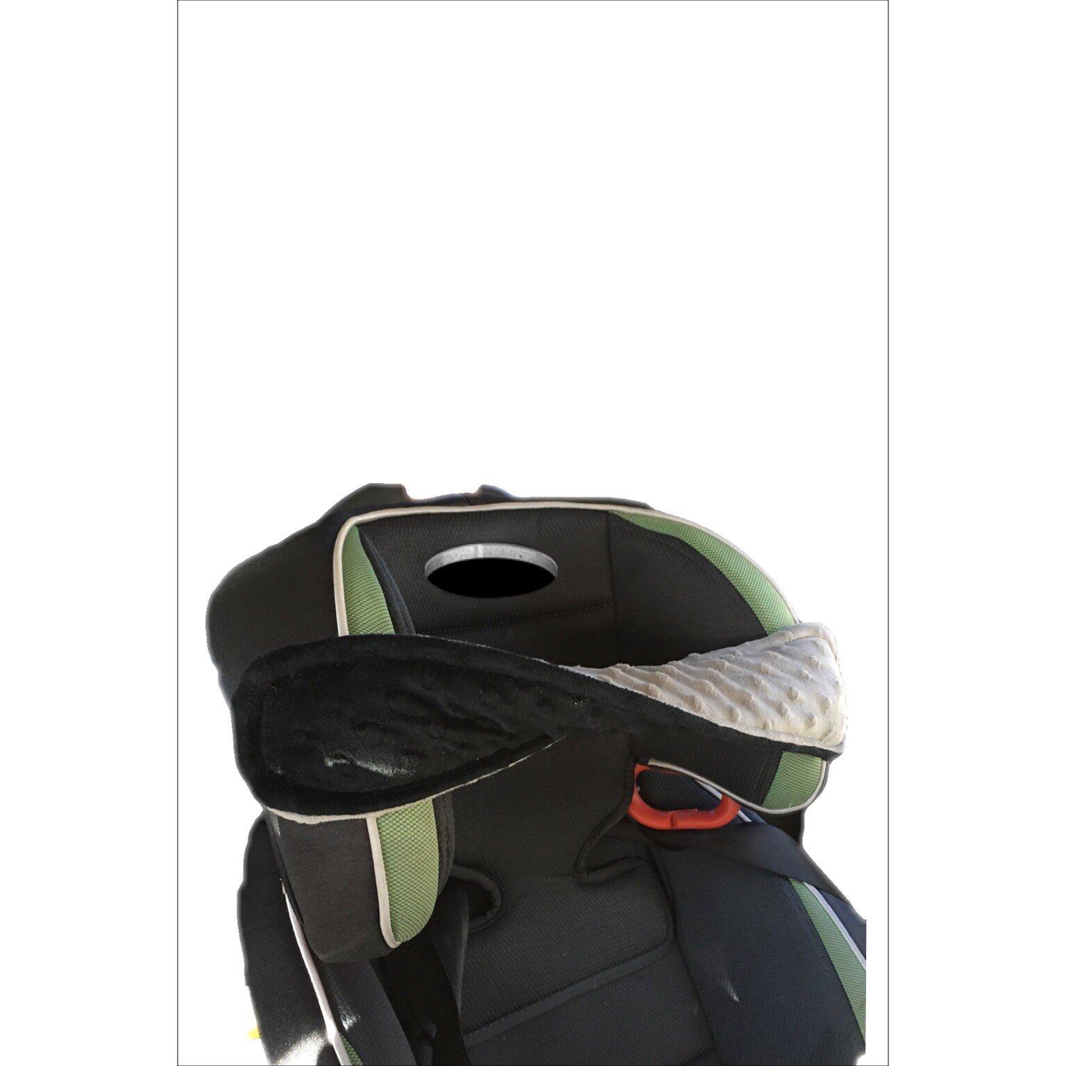Big Bandz car seat pillow (Black/grey)