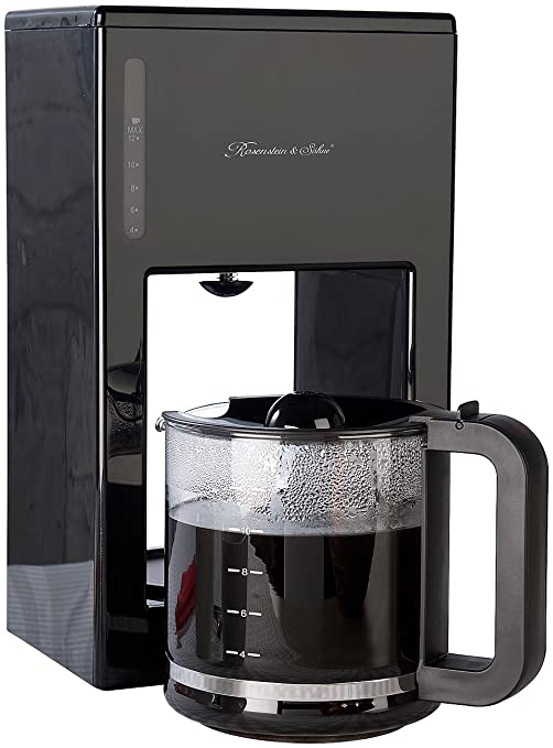 Rosenstein & Söhne – Máquina de café (: Diseño Moderno de cafetera eléctrica para hasta
