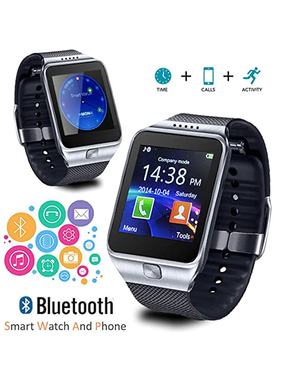 Indigi® GSM Unlocked Smartwatch sincronización Bluetooth [muñeca ...