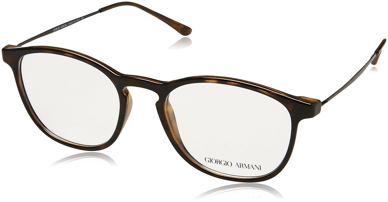 Armani Giorgio 0AR7141, Monturas de Gafas para Hombre, Dark Havana, 52