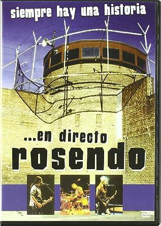 Siempre Hay Una Historia Rosen [DVD]: Amazon.es: Rosendo: Cine y ...