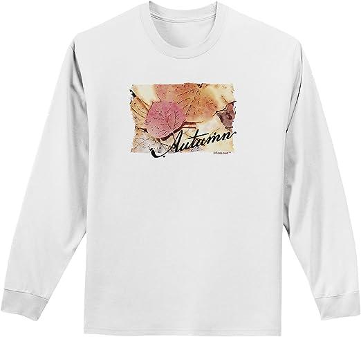 TooLoud Colorado Autumn Watercolor Text Sweatshirt