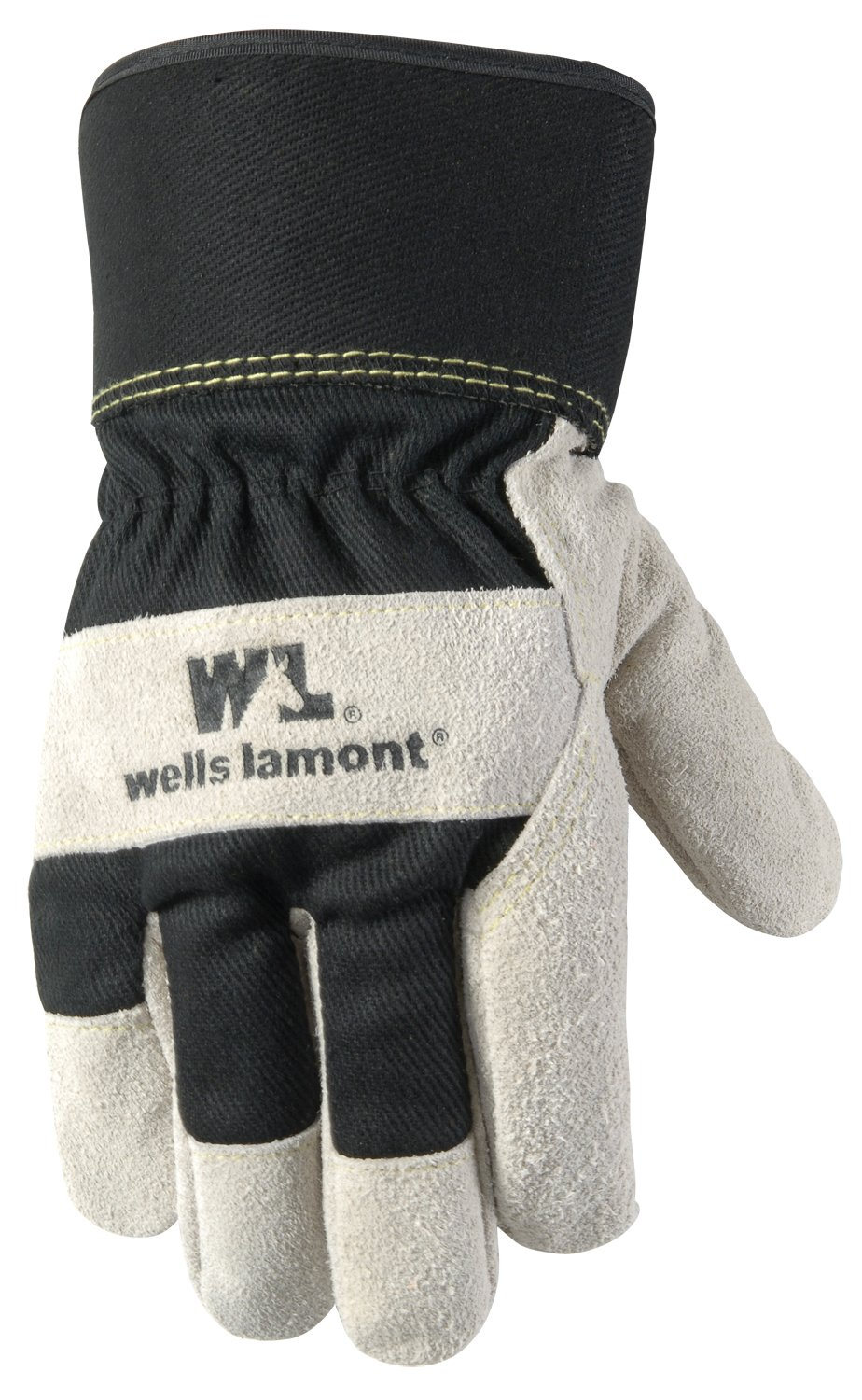 Insulated leather work gloves amazon - Wells Lamont Leather Work Gloves With Safety Cuff Insulated Palm Suede Large 5130l Cold Weather Gloves Amazon Com
