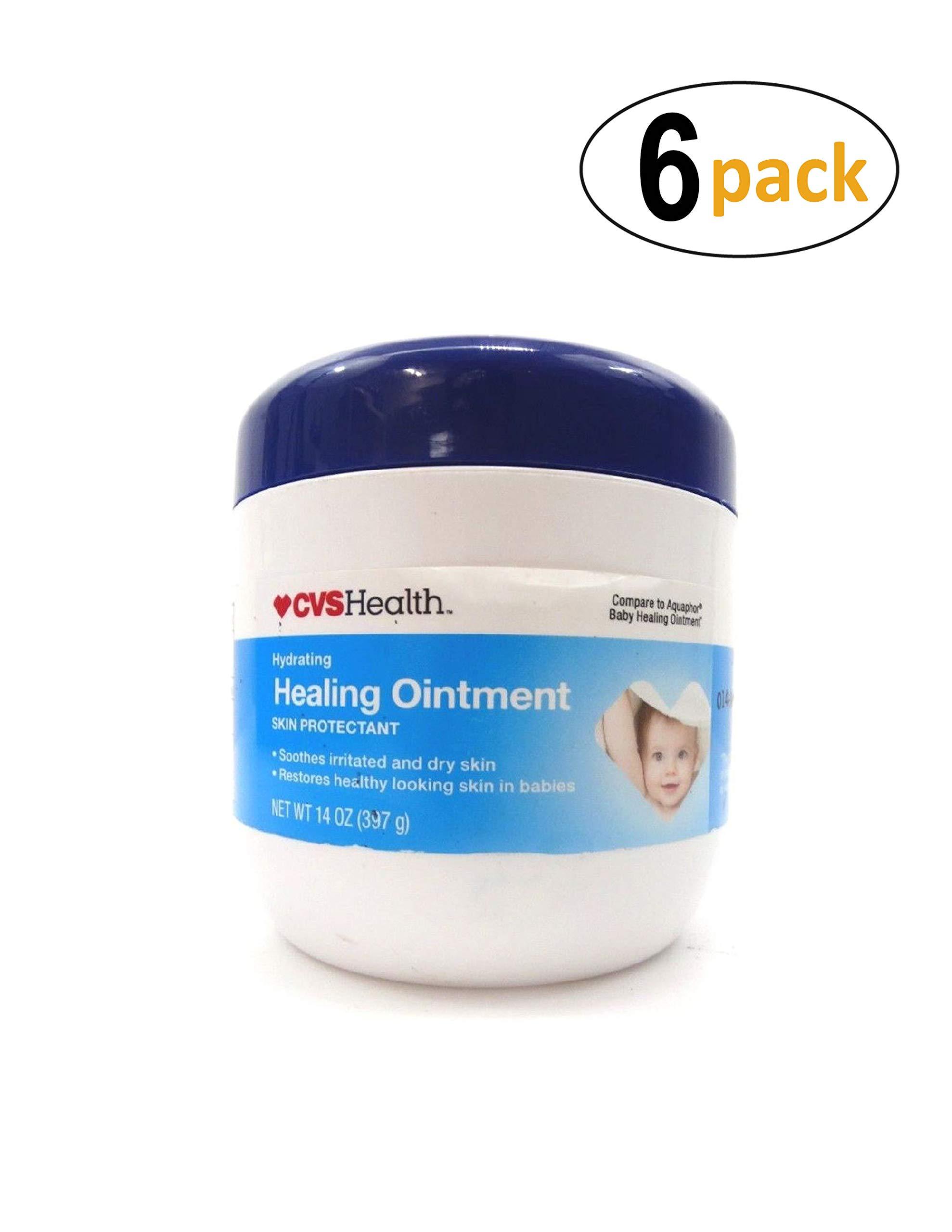 CVS Advanced Hydrating Baby Healing Ointment- 14 OZ (6 Pack) by CVS
