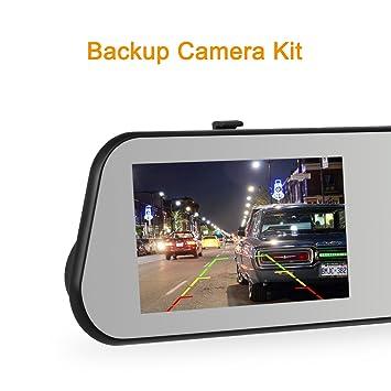 Amazon.com: AUTO-VOX M6 Dash Cam Backup Camera Kit HD Mirror Cam ...