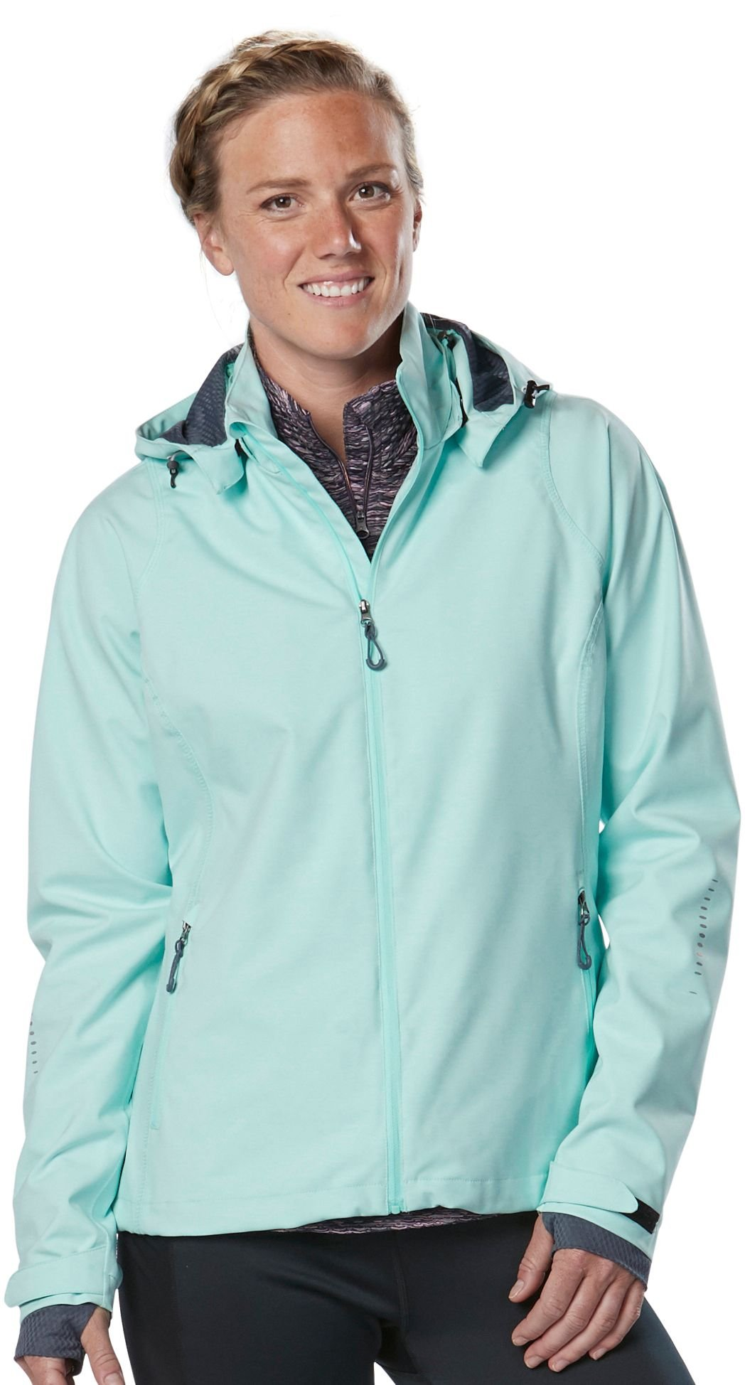 Women's R-Gear Every Weather Jacket, Sea Glass, Large