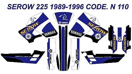 Amazon com: N 110 YAMAHA SEROW 225 1989-1996 DECALS STICKERS
