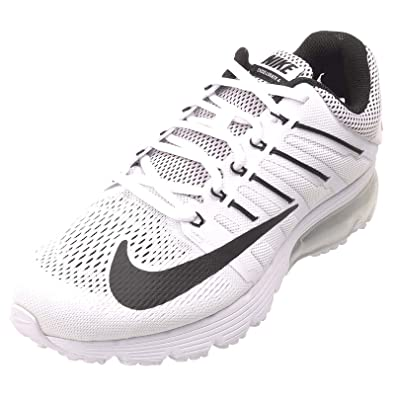 Nike Womens Air Max Excellerate 4 White/Black-White Running Shoe 7.5 Women  US