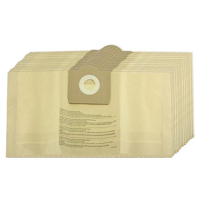 Spares2go fuertes bolsas de polvo para Parkside Lidl aspiradoras (paquete de 5, 10, 15, 20 + ambientadores) 10 Bags
