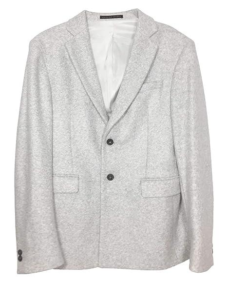 5d32a4b6 Zara Men's Grey Suit Blazer 5781/603: Amazon.co.uk: Clothing