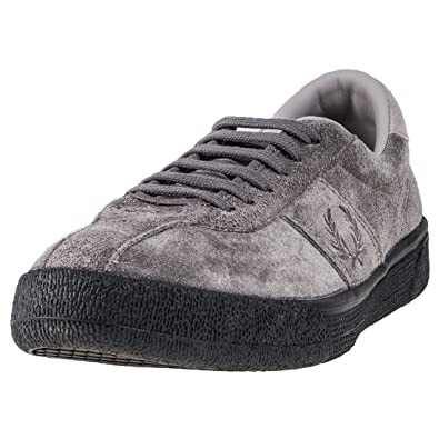 sports shoes dd340 8e592 Fred Perry B1 Tennis Shoe Mens Trainers Grey - 8 UK