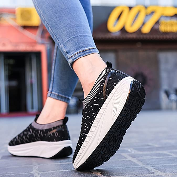 Shake Da Mesh Driving Donna Versione Knit Shoes Coreana CC8rxqOw