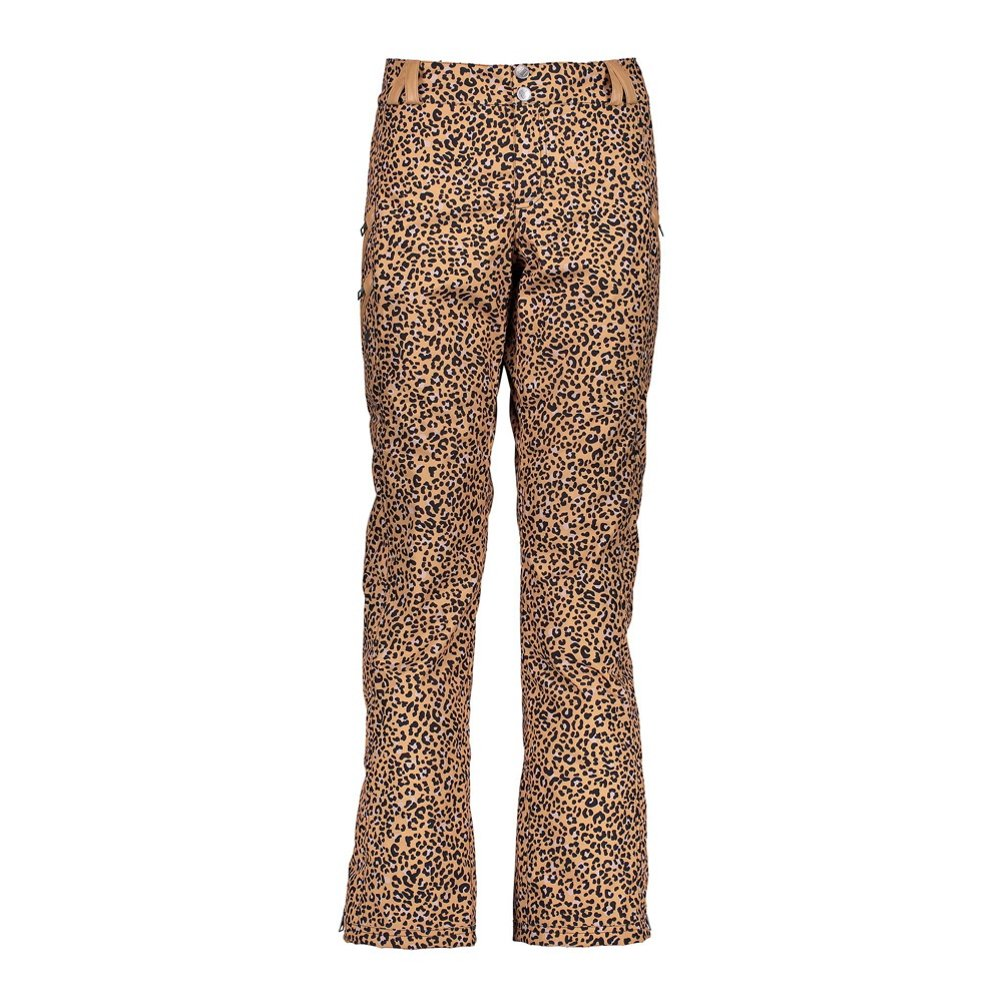 Safari Leopard Obermeyer Womens Harlow Pants