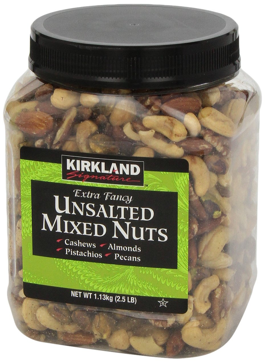 Kirkland Signature Extra Fancy Unsalted Mixed Nuts 2.5 (LB) by Kirkland Signature (Image #5)