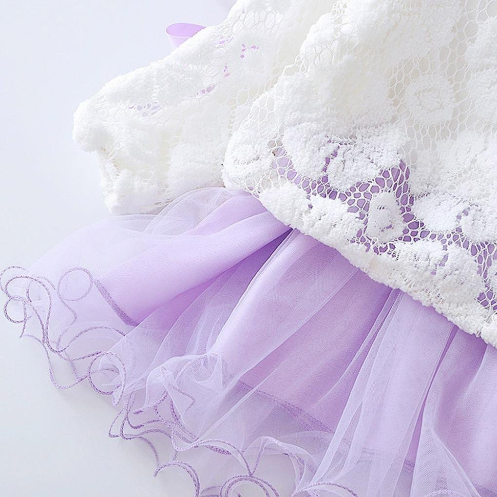 2pcs Autumn Winter Infant Baby Girls Party Lace Tutu Princess Dress Clothes Outfits Clode Baby Clothing Sets