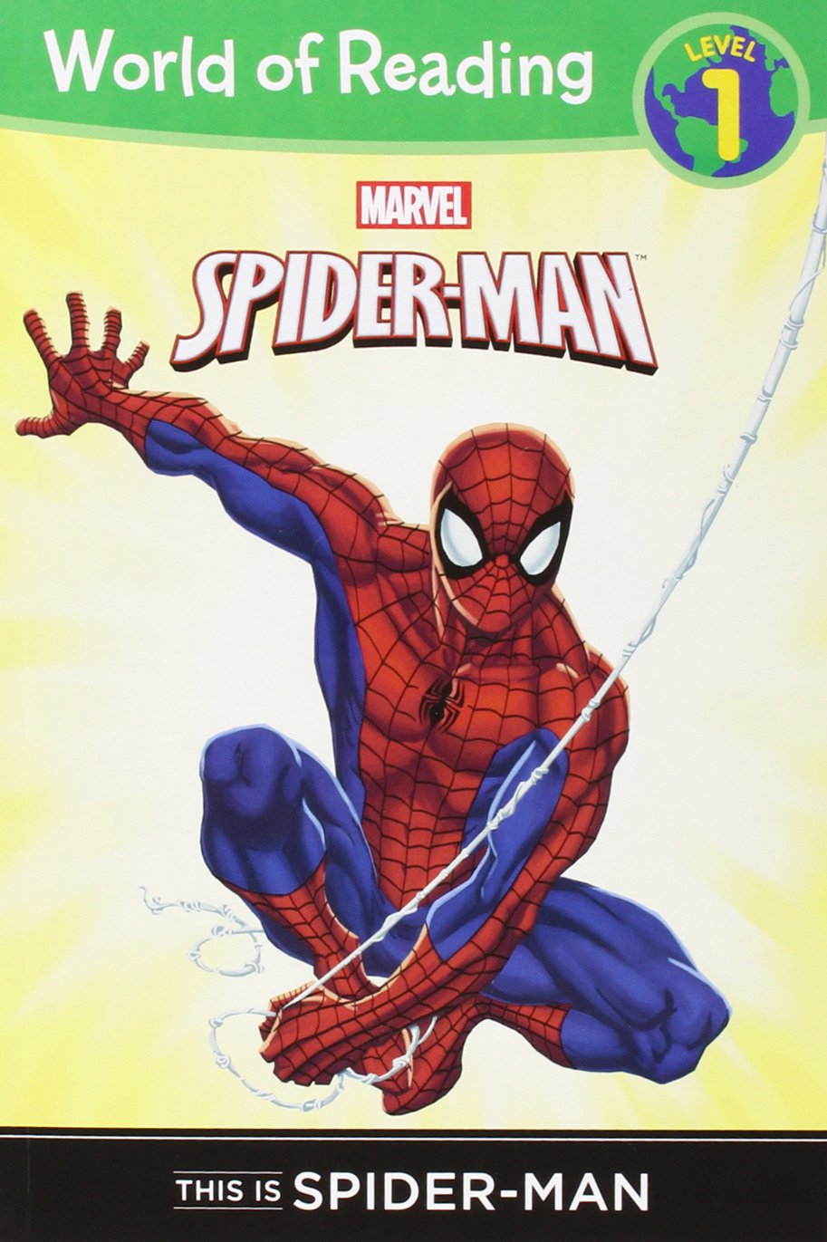 Download This is Spider-Man Level 1 Reader (World of Reading) pdf
