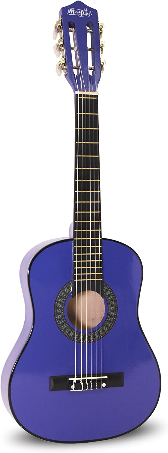 Blue Music Alley Junior Guitar For Ages 3 to 7
