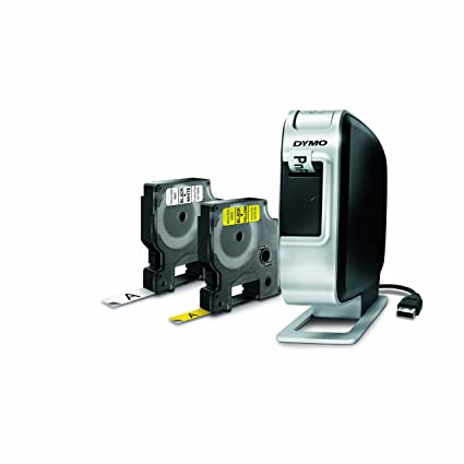 Dymo LabelManager PnP Plug and Play Label Maker with 2 x Assorted Tapes