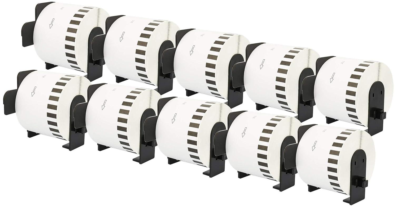 10x DK-11201 29 x 90 mm Adressetiketten (400 Stück Rolle) kompatibel für Brother P-Touch QL-1050 QL-1060N QL-1110NWB QL-1100 QL-500 QL-500BW QL-570 QL-580 QL-700 QL-710W QL-800 QL-810W QL-820NWB B07NY9HL68 | Kompletter Spezifikationsbereich