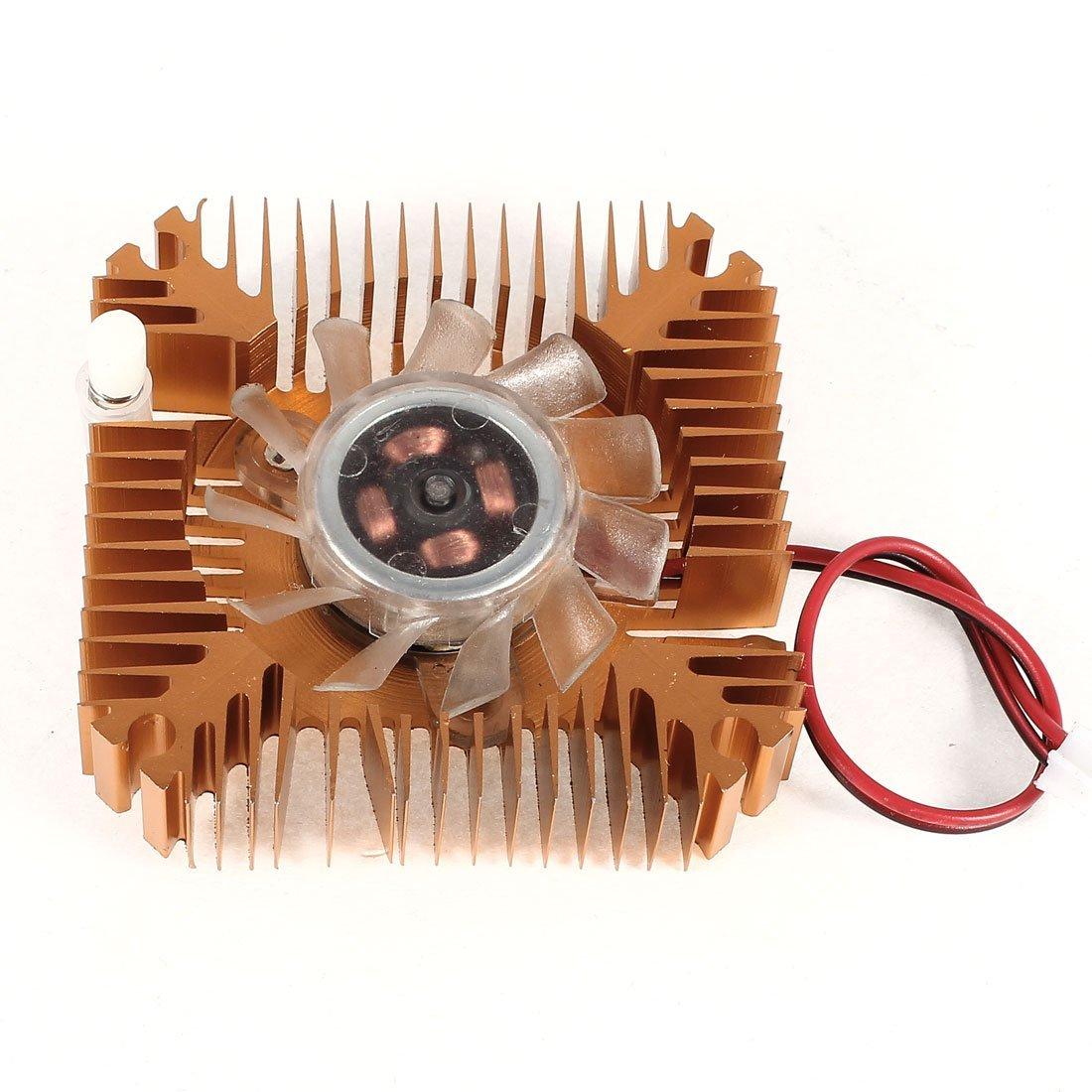 Collarín de embrague tarjeta de vídeo VGA del disipador de calor refrigerador ventilador de 55mm: Amazon.es: Electrónica