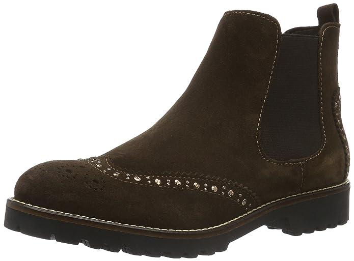 Womens 25490 Chelsea Boots, Brown, 3 UK Tamaris