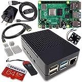 Raspberry Pi 4 Model B 4GB Complete Starter Pack - 64GB Noobs