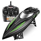 RC Boot DoDoeleph SYMA Q3 Schnell Boot 2.4GHz Fernbedienung Spielzeug High-speed Racing Boot mit Starke Kraft für Anfänger und Kinder