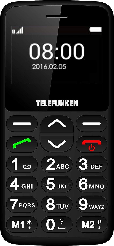 TELEFUNKEN - Teléfono Móvil Telefunken TM 140 Cosi Negro ...