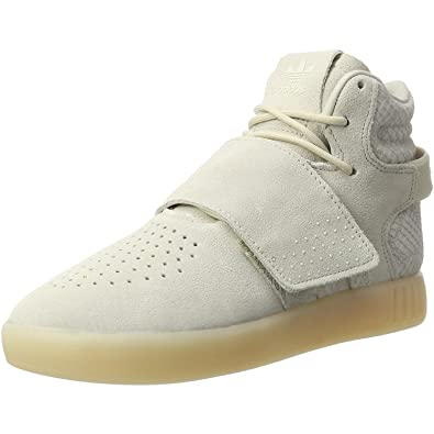 adidas originals tubular invader str trainers in beige